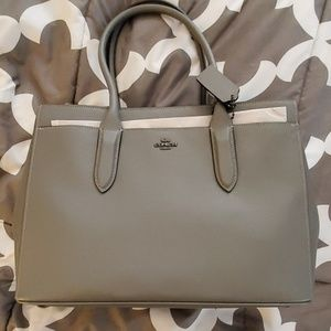 COACH Grey Bag